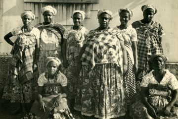 Mae Menininha (front center). Courtesy Anacostia Community Museum/Smithsonian Institution