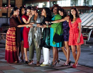 "Cena do filme ""FOR COLORED GIRLS"" de Tyler Perry."